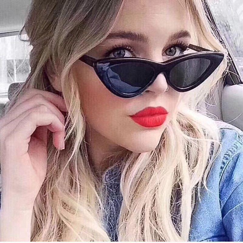 1ee603b8d1 KOTTDO 2018 New Cute Fashion Sexy Ladies Cat Eye Sunglasses Women Brand  Designer Clear Glasses Sun Glasses for Female UV400