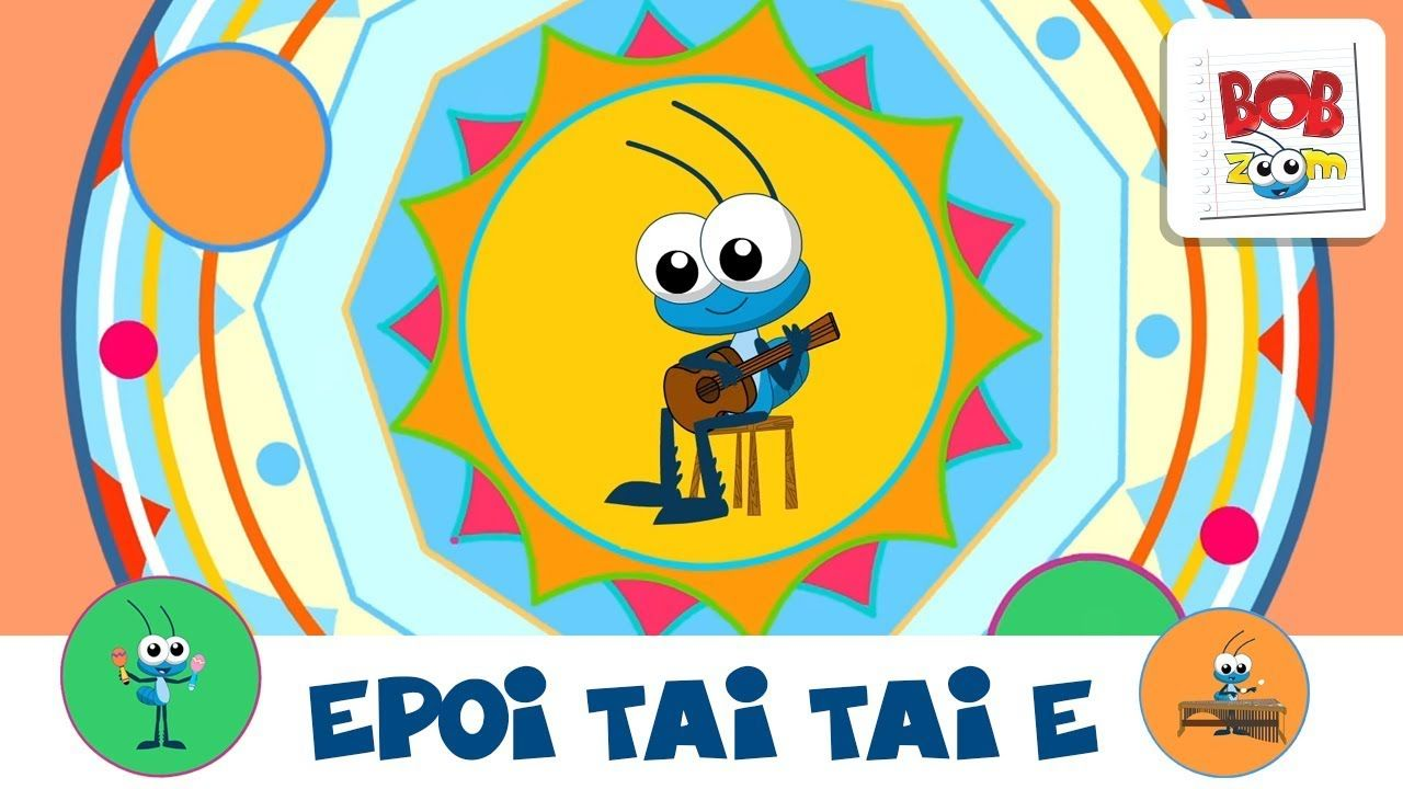 Bob Zoom Epoi Tai Taie Video Infantil Musical Oficial