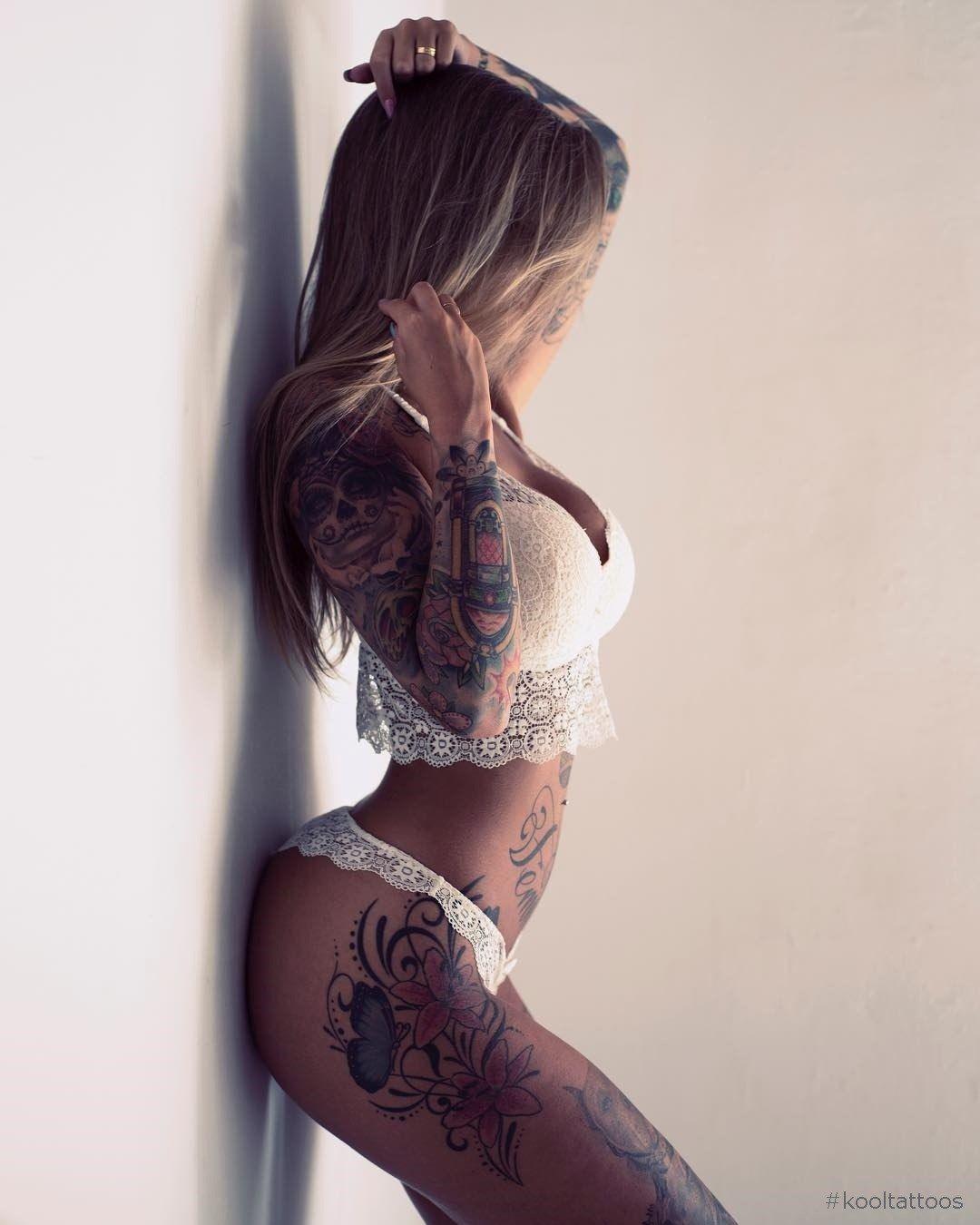 Amazing tattooed fitness girls u women daily pics motivation
