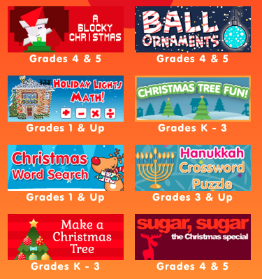 Christmas in the Classroom Holiday activities