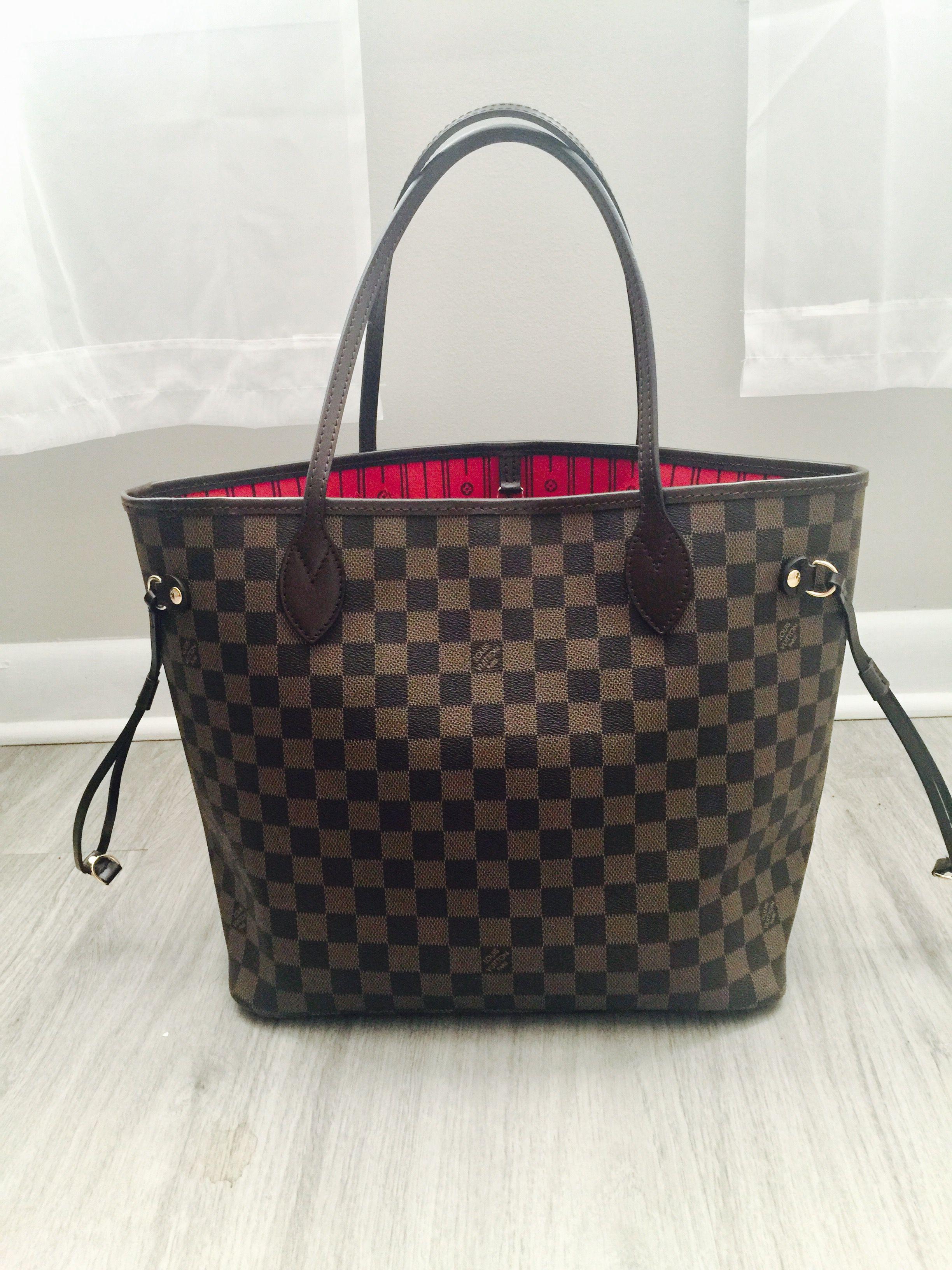 8fe3cca8498 Louis Vuitton Neverfull MM Damier Replica Louis Vuitton | http://www ...