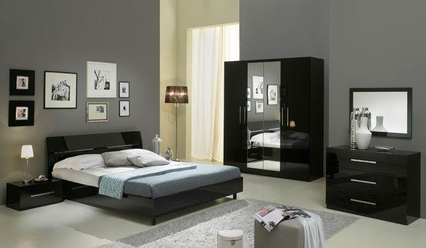 Chambre A Coucher Simple Et Elegante Chambre A Coucher Noire Chambre A Coucher Meuble Chambre