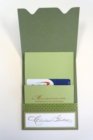 Envelope Maker Gift Card Holder