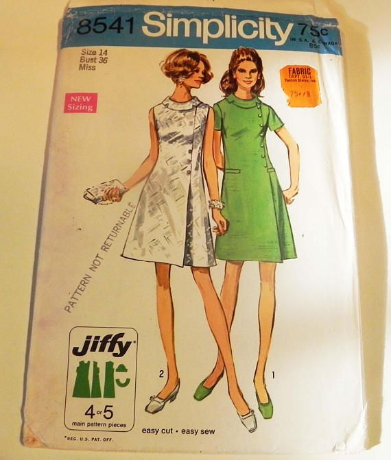1960s Asymmetric Dress Sleeveless A line jiffy bias roll | etsy ...