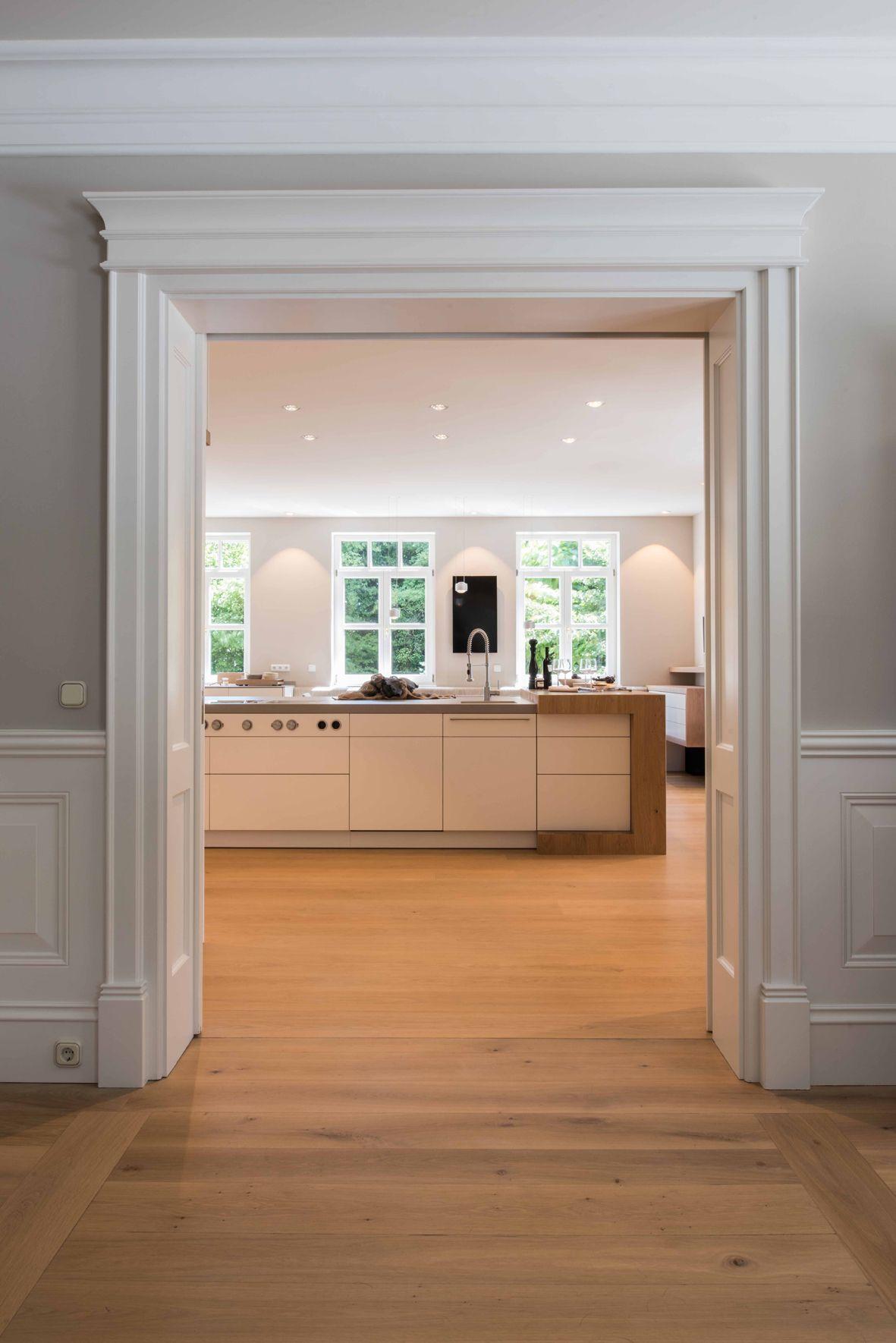 Gründerzeit trifft modernes Küchendesign  Wohnung braunschweig