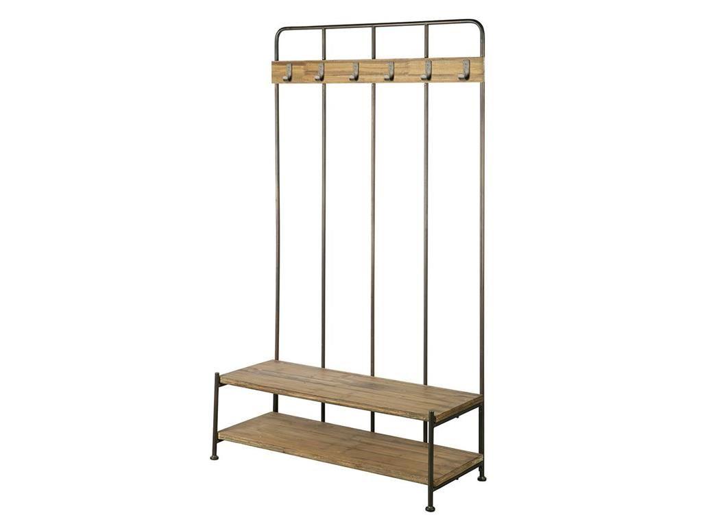 bepurehome vintage garderobe mit bank und 5 haken giro pinterest garderobe mit bank haken. Black Bedroom Furniture Sets. Home Design Ideas