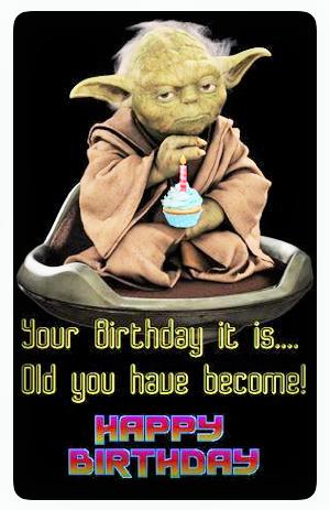 Pin by Icyunvme Whoa\'b on yoda quotes | Yoda happy birthday ...