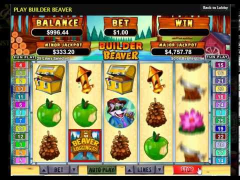 Play Builder Beaver Slot Machine Free With No Download