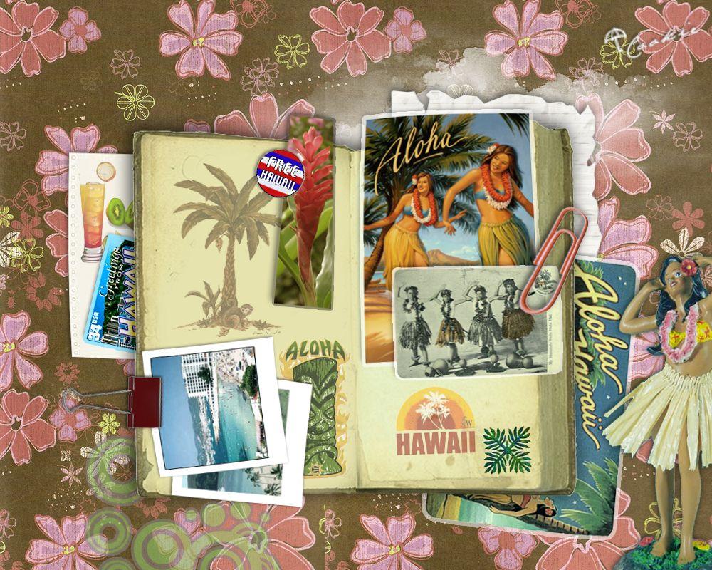 Scrapbook ideas hawaii - Hawaii Scrapbook Page Book Page 3_hawaii Scrapbook By Flowery Cookie