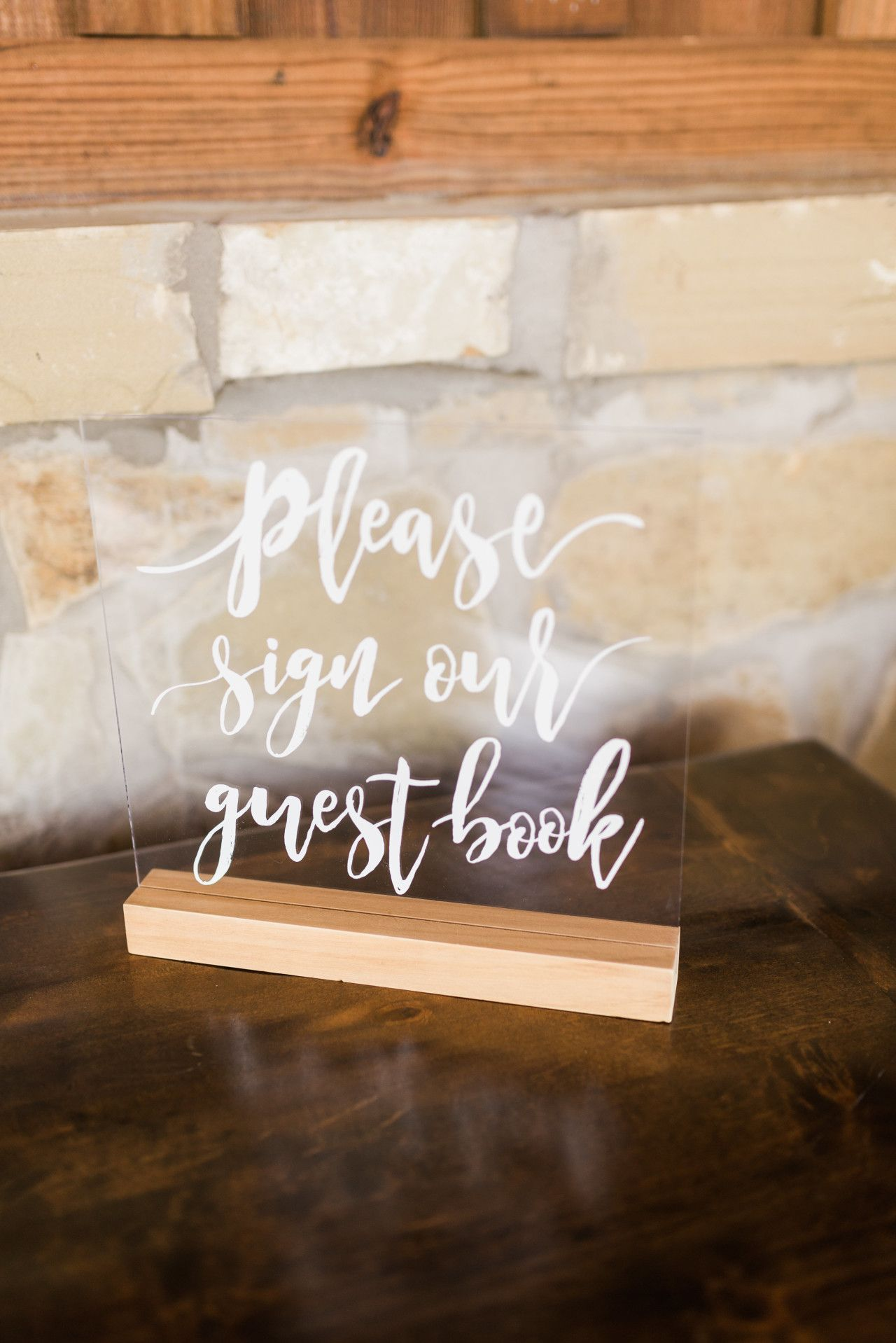 "glass wedding sign ideas | modern wedding sign | ""please sign our"