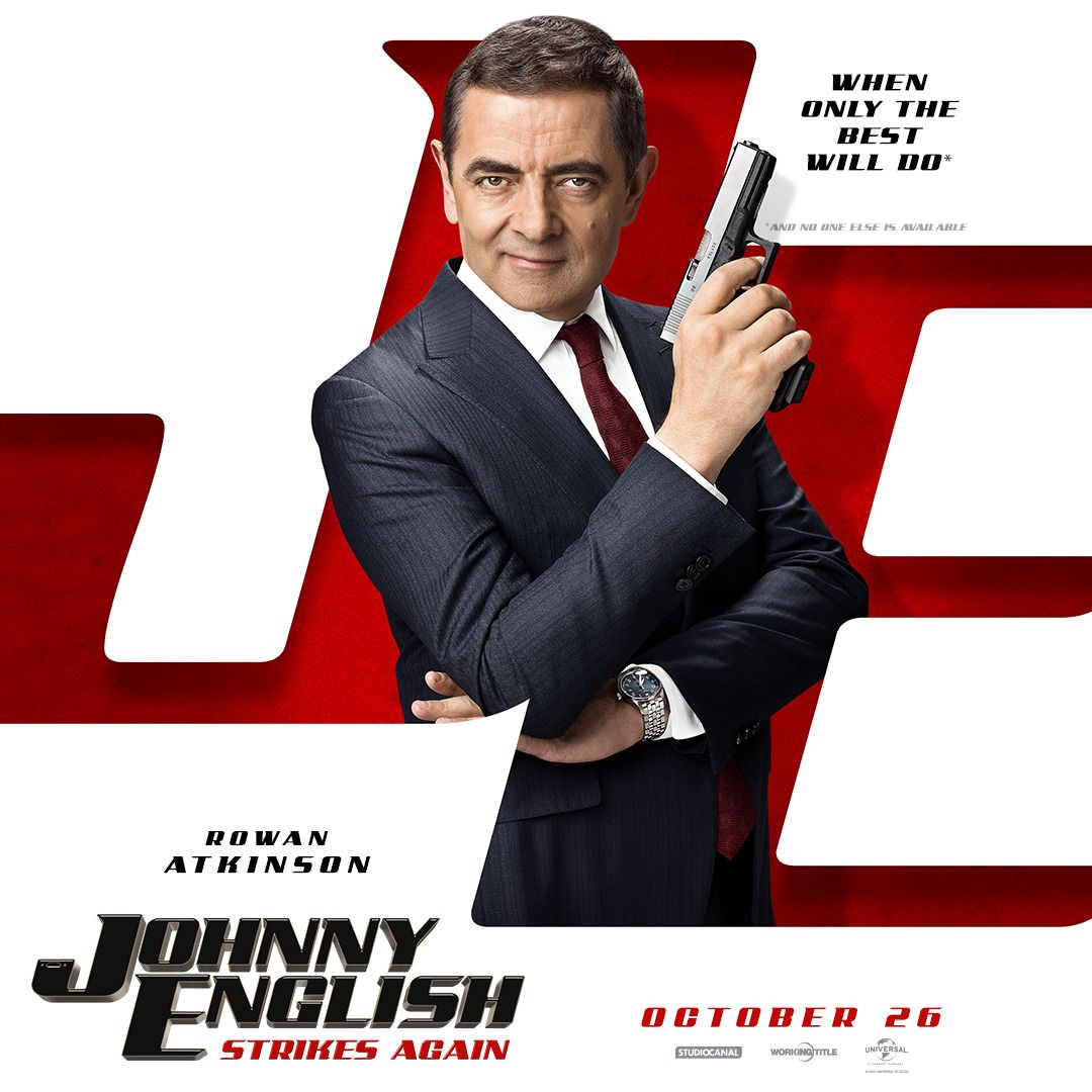 Check Out The Latest Johnny English Strikes Again Trailer Pictures Johnnyenglish Movies Movietrailers Focusfeatures Johnny English Johnny Strikes Again