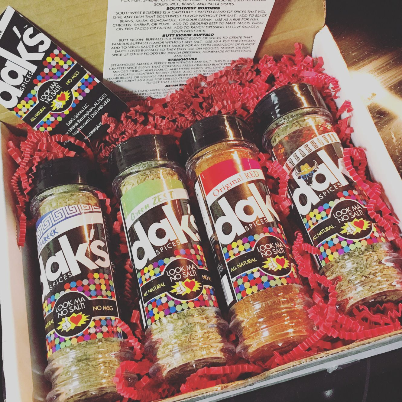 Spice up your nutrition daks spices review great for cooking recipes malvernweather Gallery