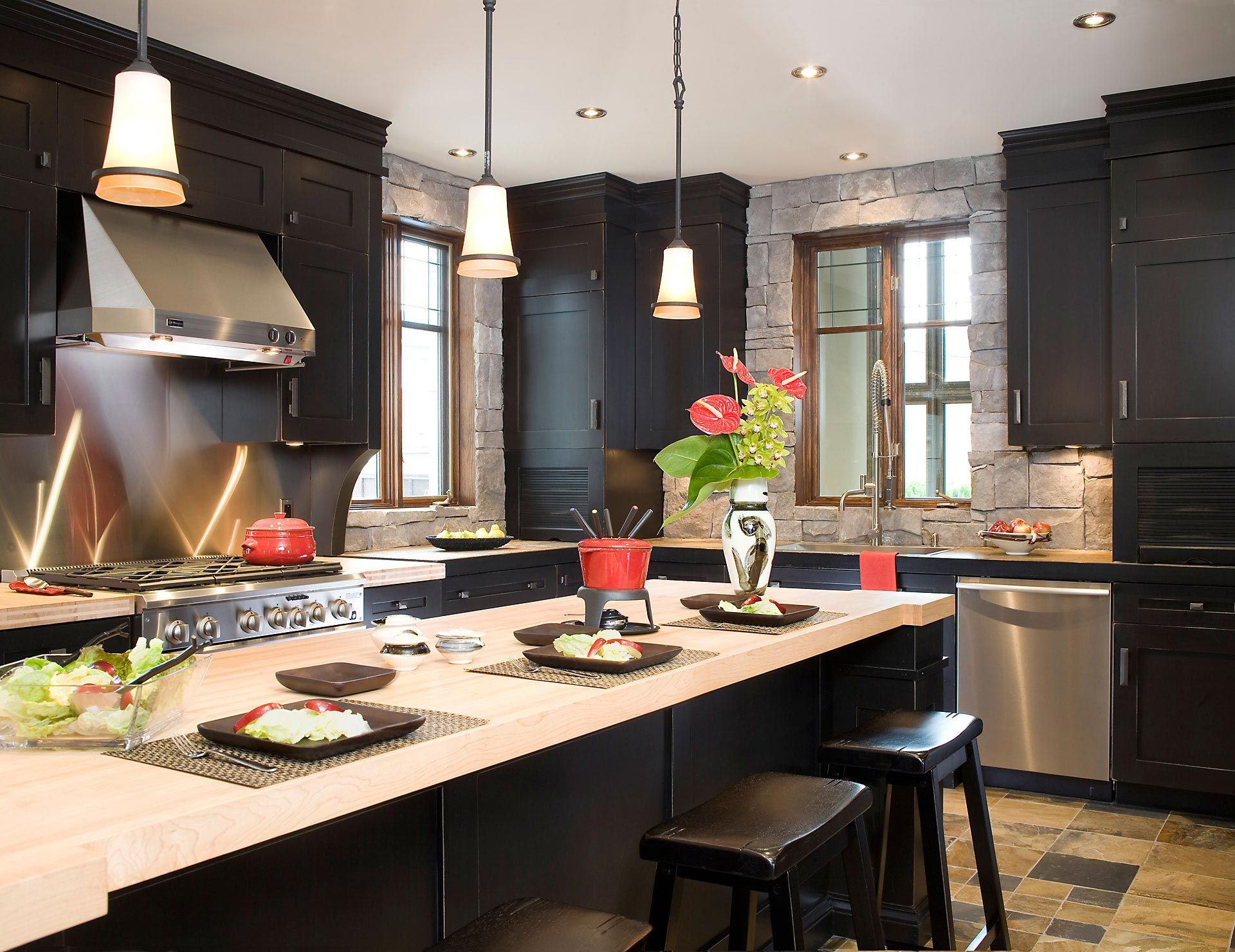 Rochon cuisines et salles de bains armoires de for D co cuisines et salles de bains