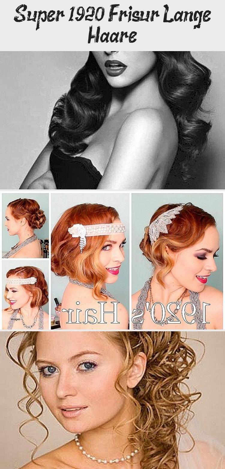 Super 1920 Frisur Lange Haare Beauty In 2020 Hair Styles Teacher Hair Quick Hairstyles