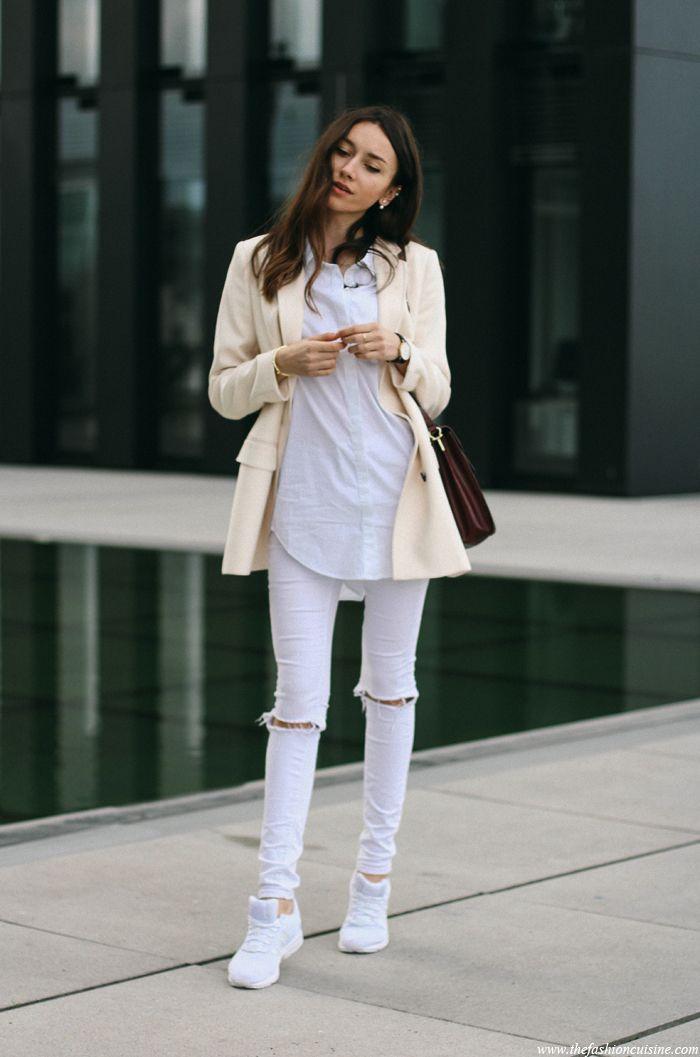 Adidas Zx Flux White Tumblr