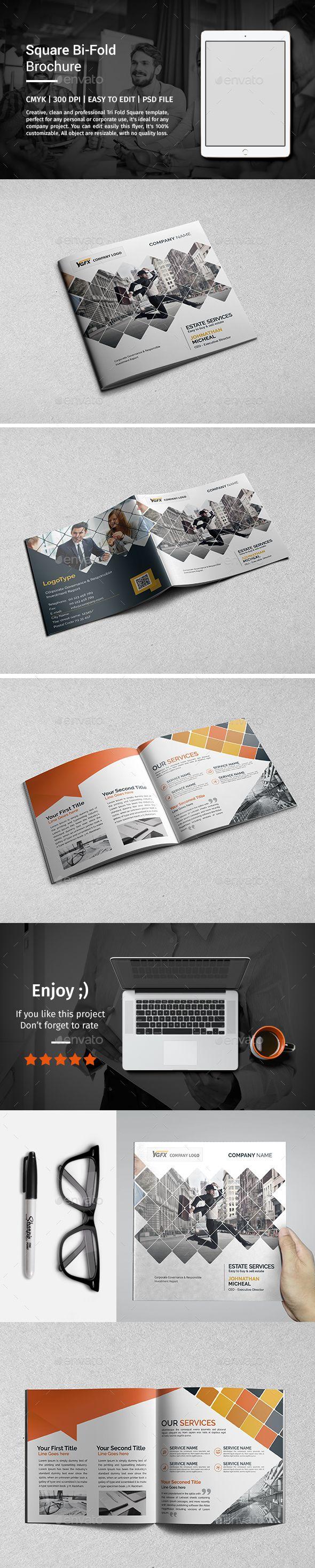 Square Bi-Fold Brochure 02