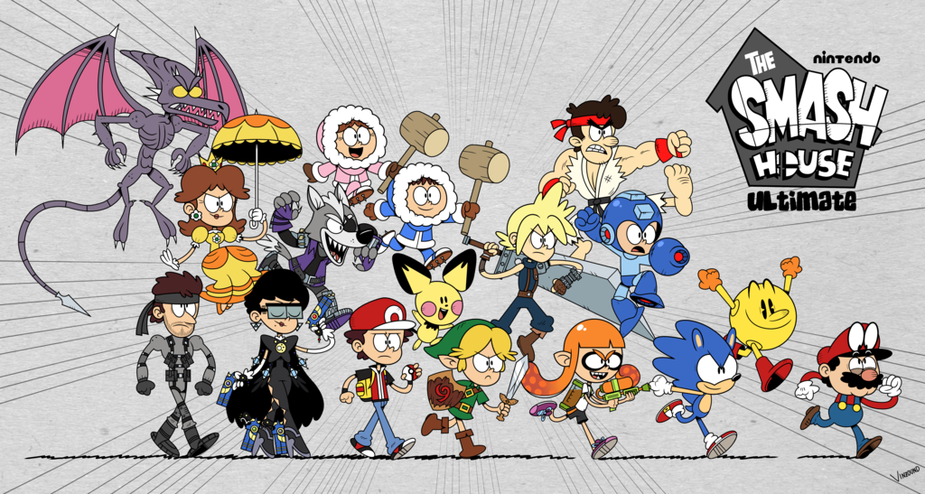 In The Smash House Super Smash Brothers Ultimate Smash Bros Funny Nintendo Super Smash Bros Super Smash Brothers