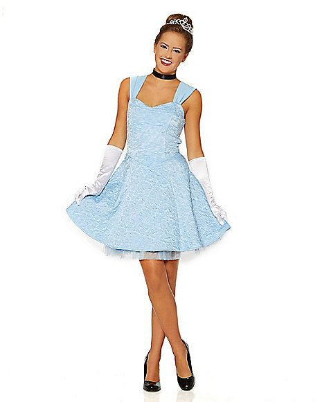Blue Storybook Princess Dress - Spirithalloween.com. Disney Characters CostumesCharacter ...  sc 1 st  Pinterest & Blue Casual Storybook Princess Dress - Spirithalloween.com | Costume ...