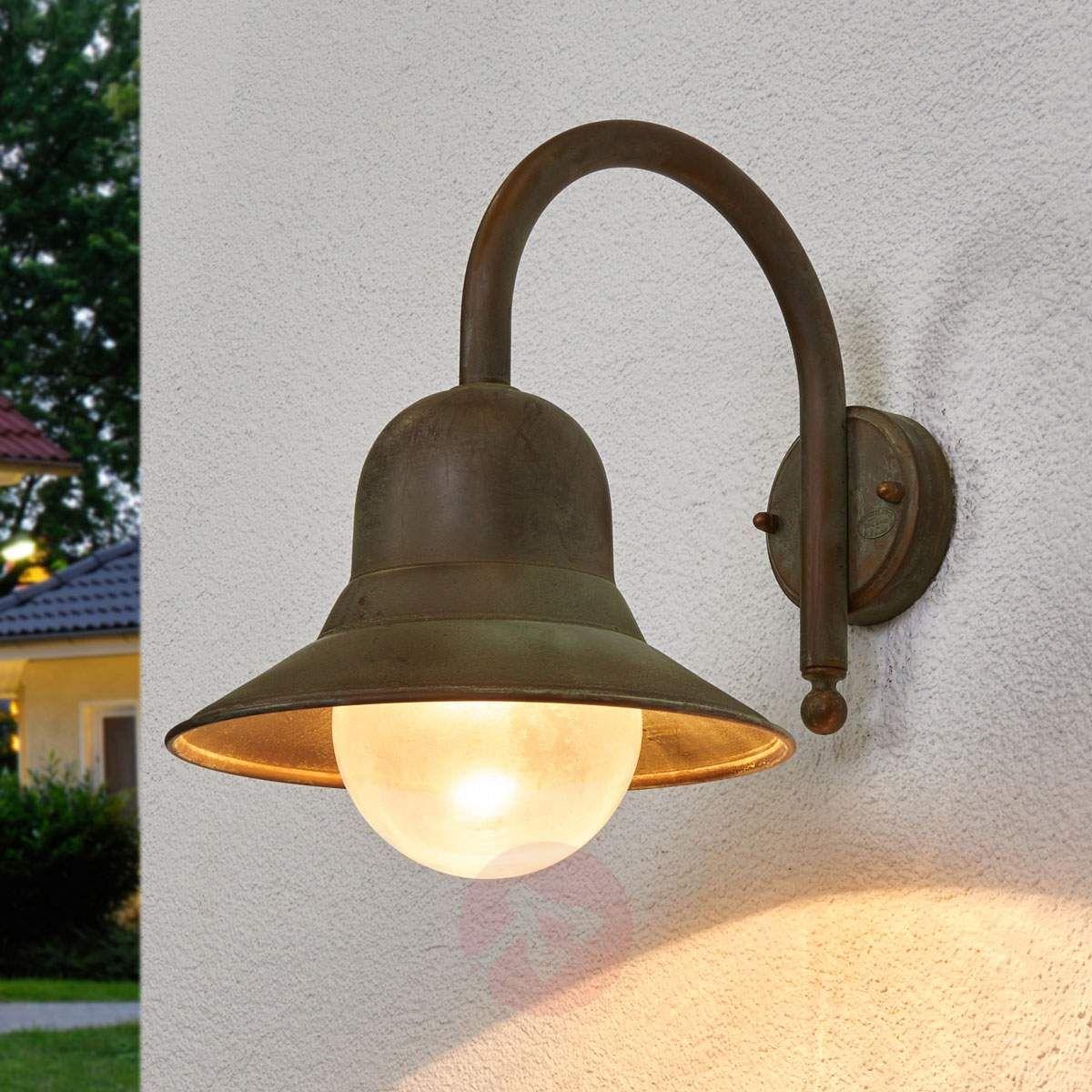 Antyczna Zewnętrzna Lampa ścienna Marquesa Lampy Wiszące