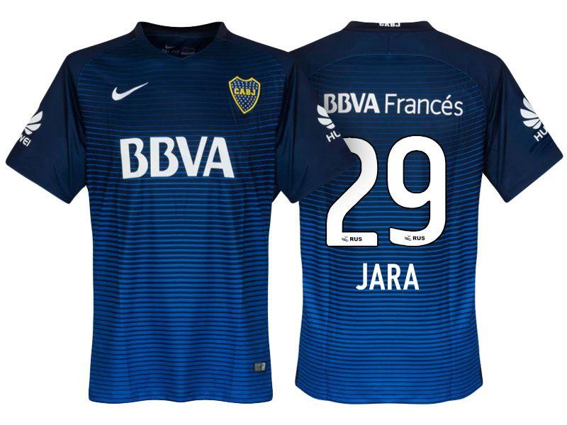 online store 7d9d0 df557 Boca Juniors Jersey leonardo jara Third 17-18 Shirt | cheap ...