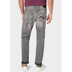Tom Tailor Men's Josh Regular Slim Jeans, gray, plain, size 33/30 Tom TailorTom Tailor