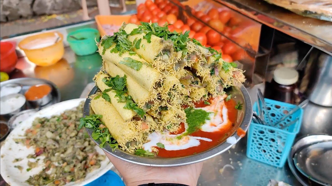 Aloo Fingers Chaat   Most Creative Chaat Making   Indian Street Food