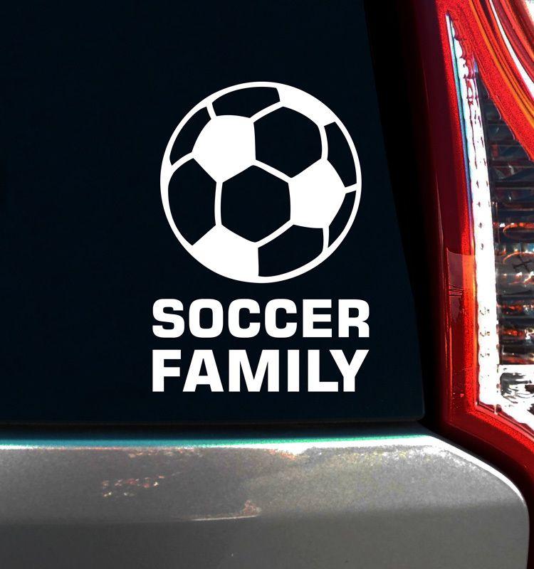 Soccer Family Window Decal   Soccer ball, Soccer skills and Soccer ...