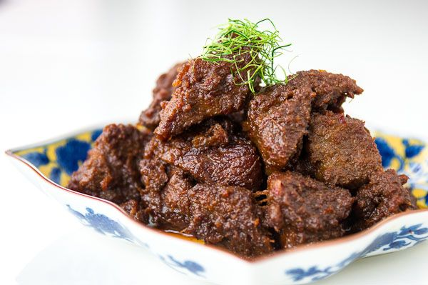 Beef Rendang Recipe Beef Rendang Recipe Food Recipes Food