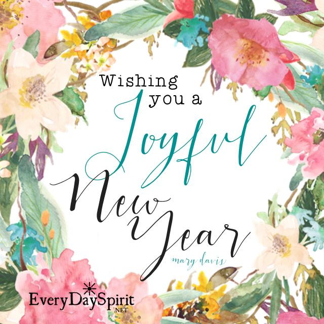 New Year joy to you! xo See the app of beautiful wallpapers at ~ www ...
