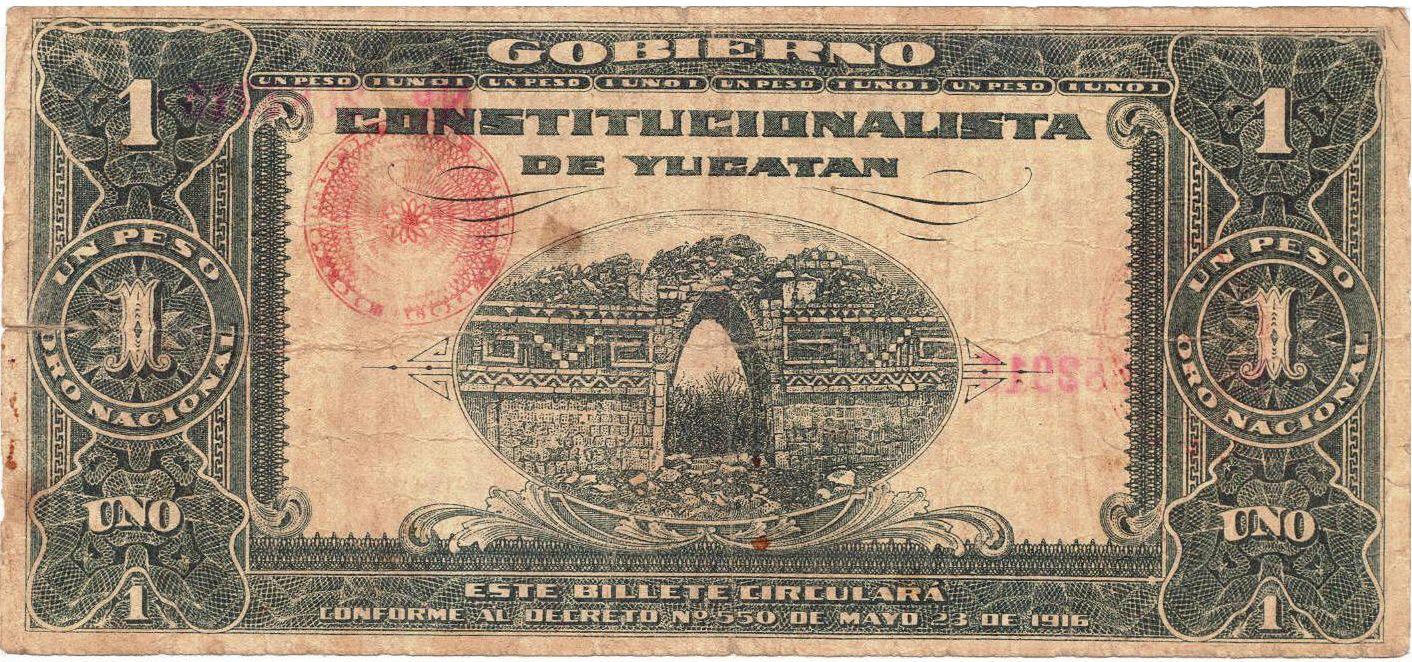 Billete de la hermana República de Yucatán. | Billetes, Monedas, Dinero