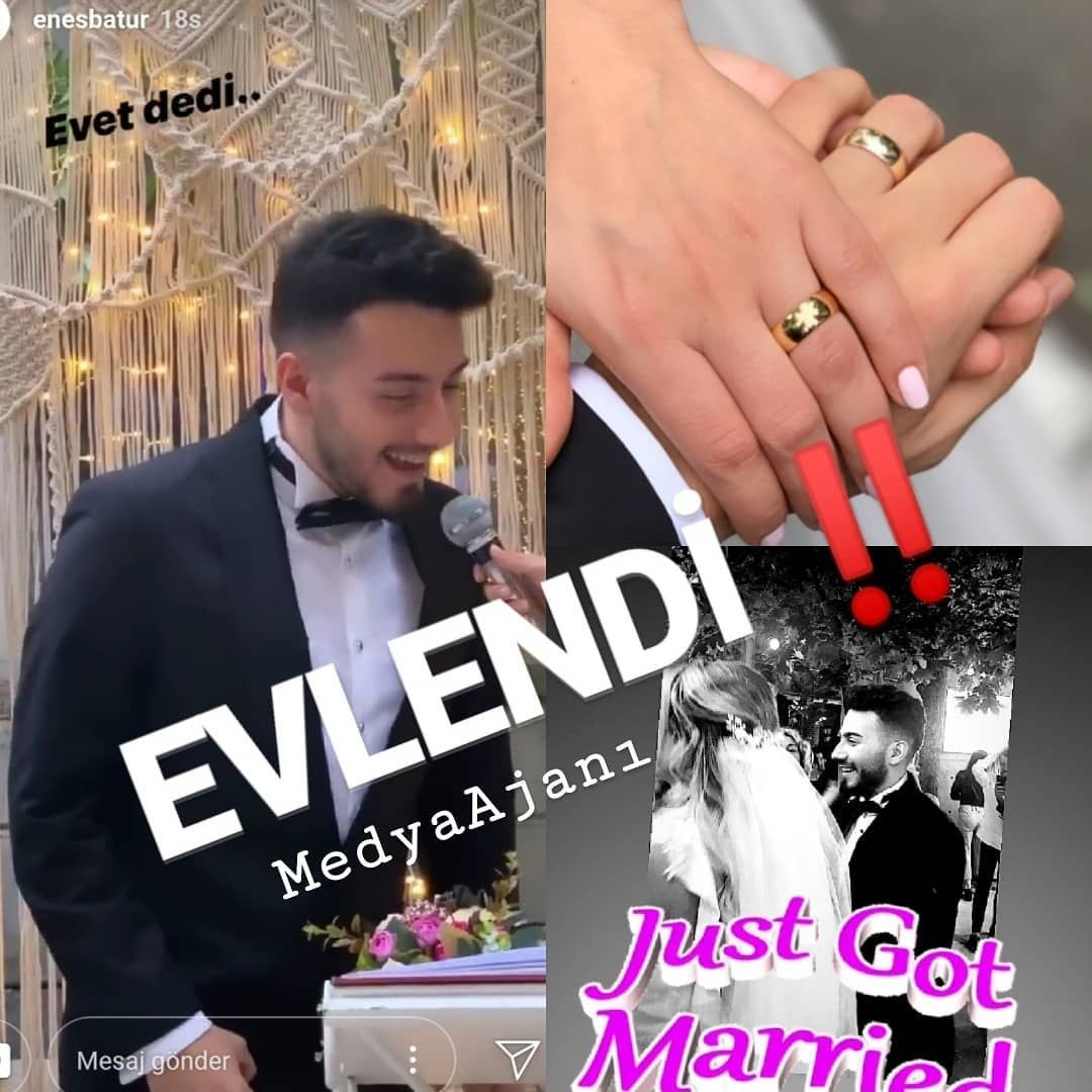 Enes Batur Evet Diyerek Evlilige Adim Atti Unlu Youtuber Enes Batur Dun Aksam Sevgilisi Tulu Baci Ile Evlilige Evet Dedi Evlilik Class Ring