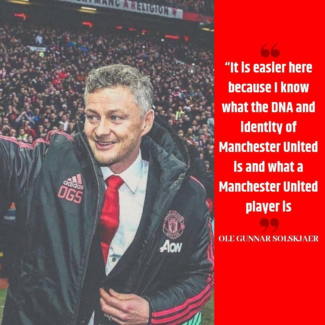 Ole Gunnar Solskjaer On Being At United Will He Be Named The Permanent Mana Manchester United Football Club Manchester United Football Manchester United