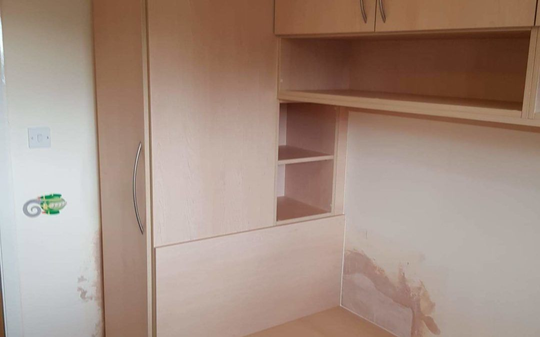 Cabin Bed With Wardrobe And Open Shelf Units The Cabin Bed Company In 2020 Bed With Wardrobe Cabin Bed With Wardrobe Cabin Bed