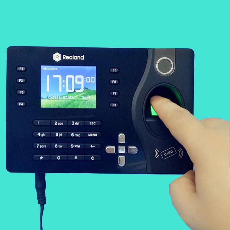 A-C081 TCP/IP Biometric Fingerprint Time Clock Recorder Attendance