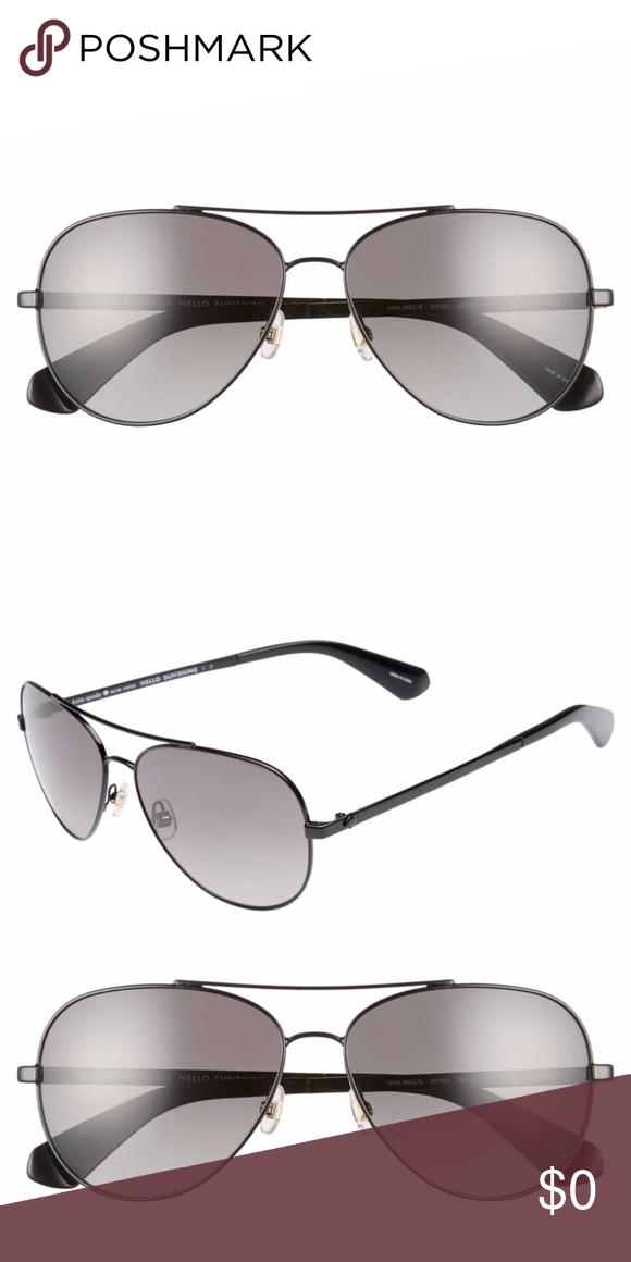 49f718e680 kate spade Aviator Stainless Steel Sunglasses kate spade new york avaline 2 s  58mm polarized
