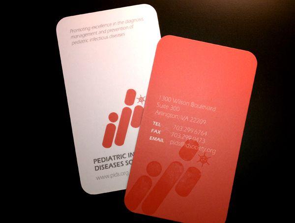Business card design pediatric id society on the behance network business card design pediatric id society on the behance network colourmoves