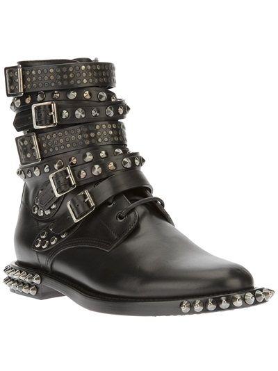 SAINT LAURENT Studded Boot
