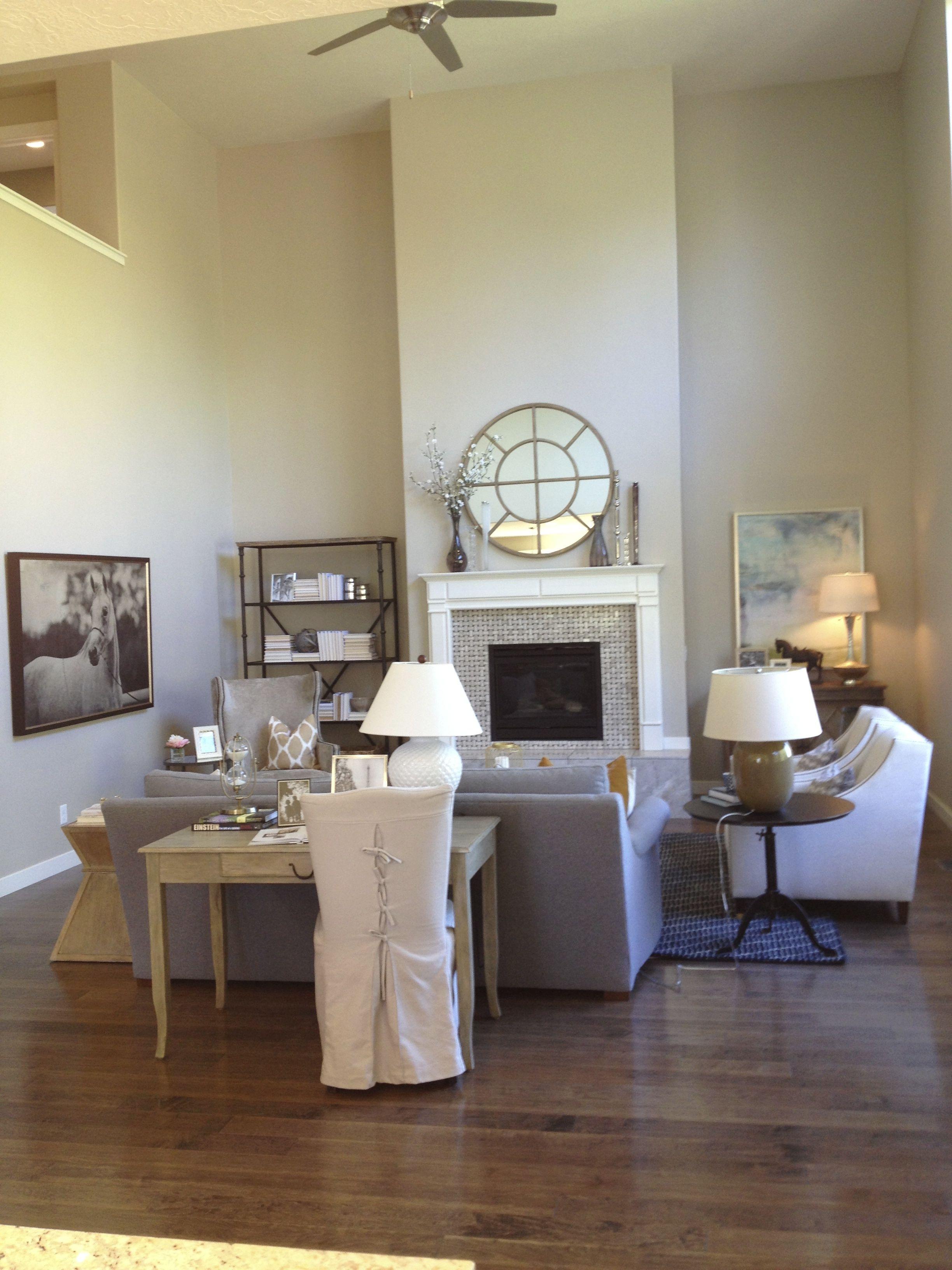Light, gray, cream living room   Home   Pinterest