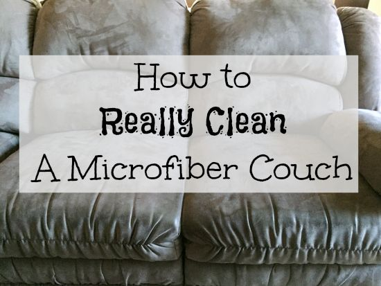 Cleaning Tip Tuesday Cleaning A Microfiber Couch For The Home