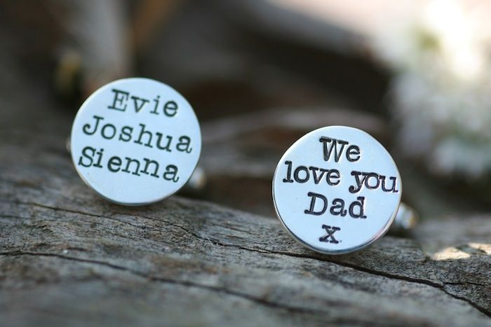 Daddy Love Cufflinks £130. Dad can wear his heart on his sleeve even when he's away on business. http://www.joulberry.com/Daddy-Love-Cufflinks-p/mtw-cl_dadr.htm