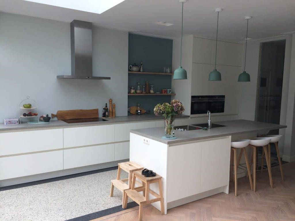 Photo of Color advice house oegstgeest scandinavian kitchens from studio inside scandinavian | homify