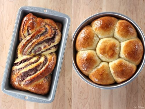 Adzuki Red Bean Bread (2 Ways)
