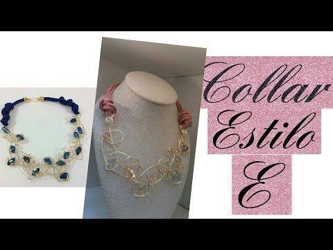 47fbb346b06f Como hacer un Collar de Perlas y Argollas   Pekas Creaciones - YouTube