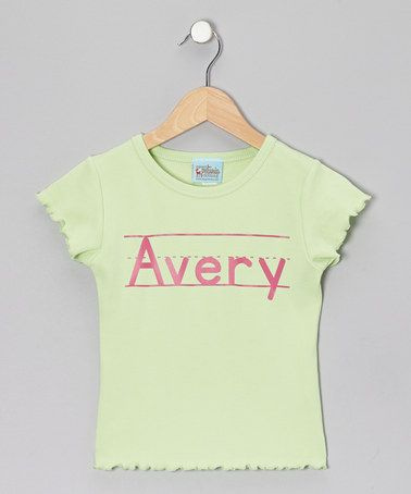 Personalized Tee