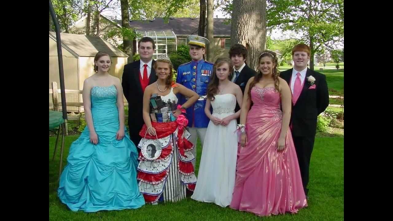 DUCK brand Duct Tape PROM dress(Elkhart,Indiana)Kayla Sawyer, David ...