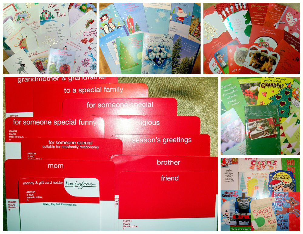 Wholesale Greeting Card Lot 80 American Greetings Christmas Cards ...