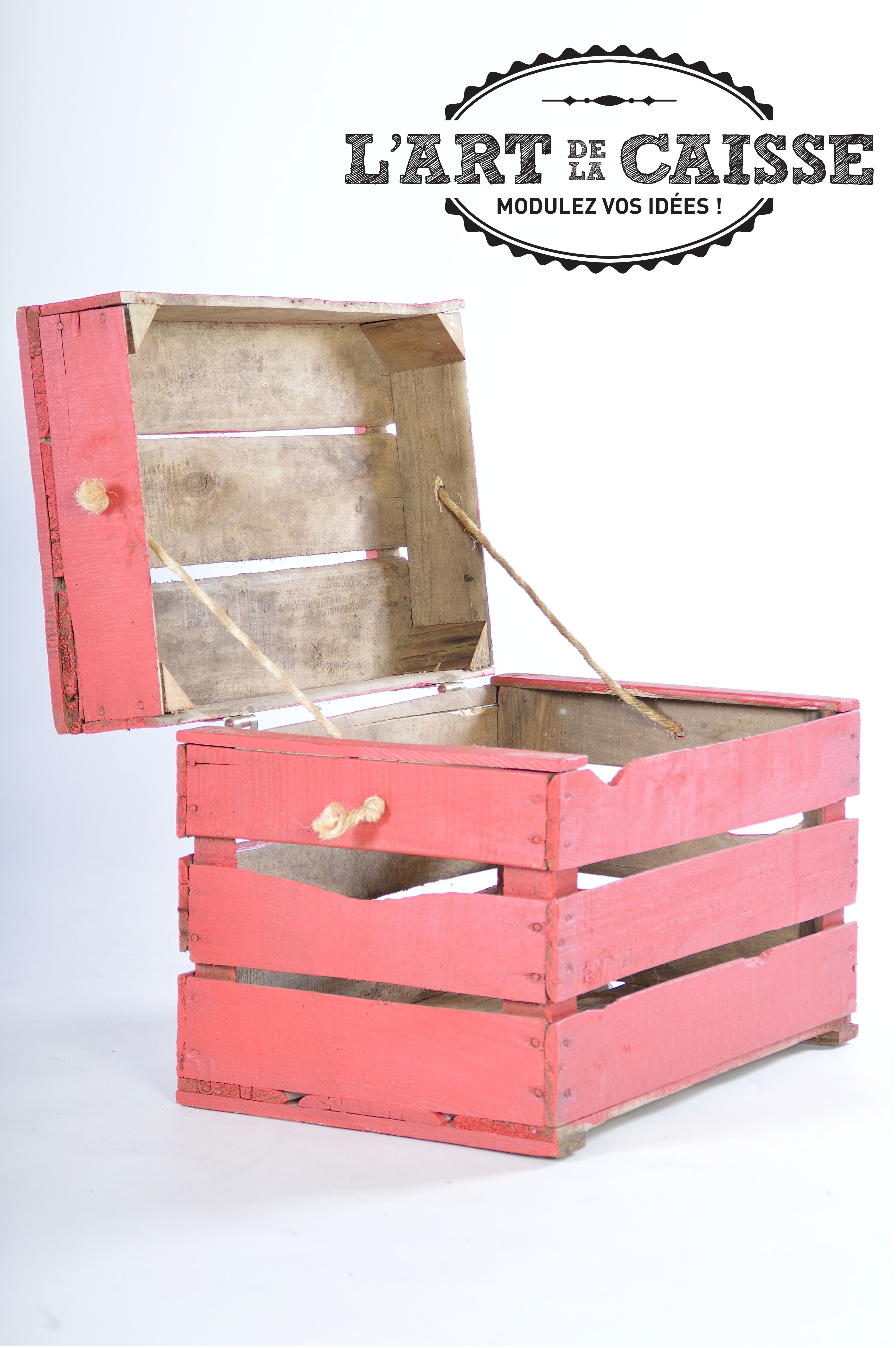 objet deco caisse crate boxe diy id es fabriquer. Black Bedroom Furniture Sets. Home Design Ideas