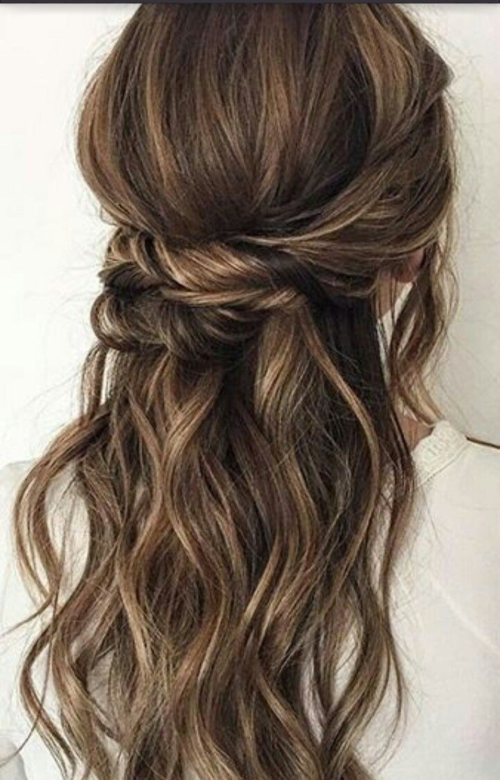 Pin by ola sagbola on wedding hair pinterest hair style half