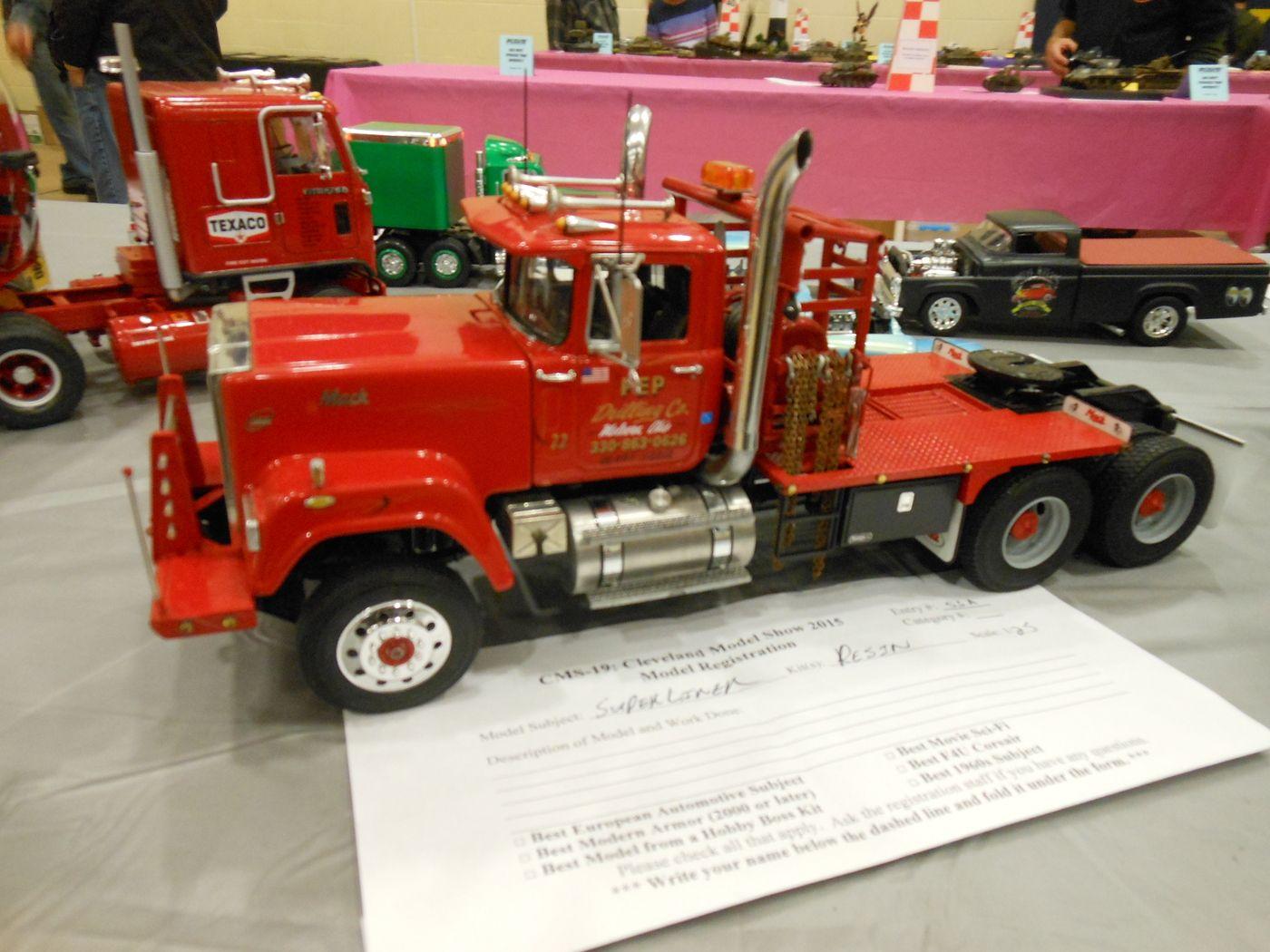 Mack Truck Model Kits : Mack superliner model kits semi trucks pinterest