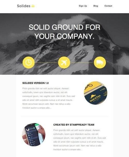 Html email newsletter templates 36 email marketing pinterest these newsletter templates also offer multiple layout options and different colour schemes below are 40 best html email newsletter templates spiritdancerdesigns Image collections